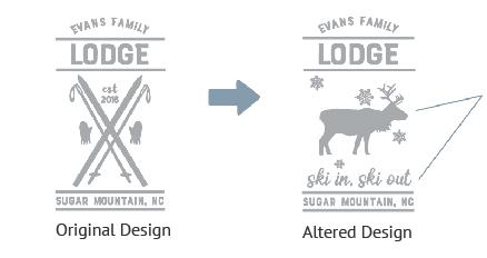 Alert an Existing Design