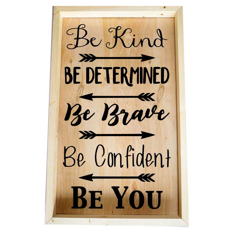 Larger-14x24-Framed-Be-Kind-Be-Determined