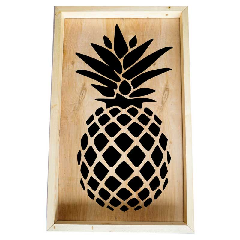 Larger-14x24-Framed-Pineapple-Image