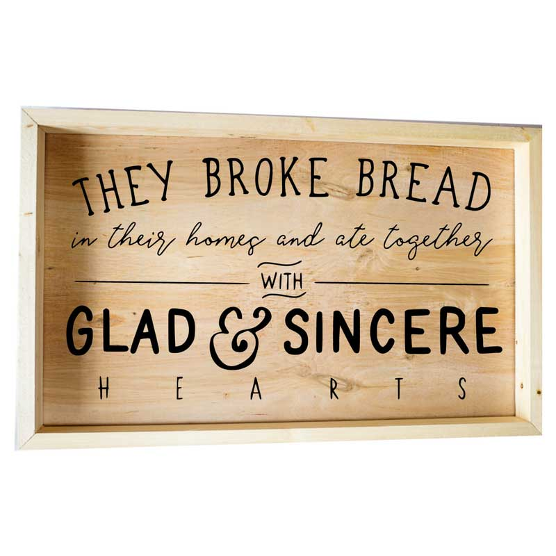 Larger-14x24-Framed-They-Broke-Bread