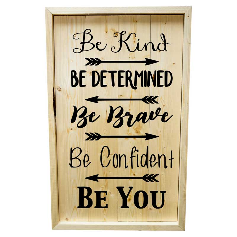 Larger-14x24-Stack-Framed-Be-Kind-Be-Determined