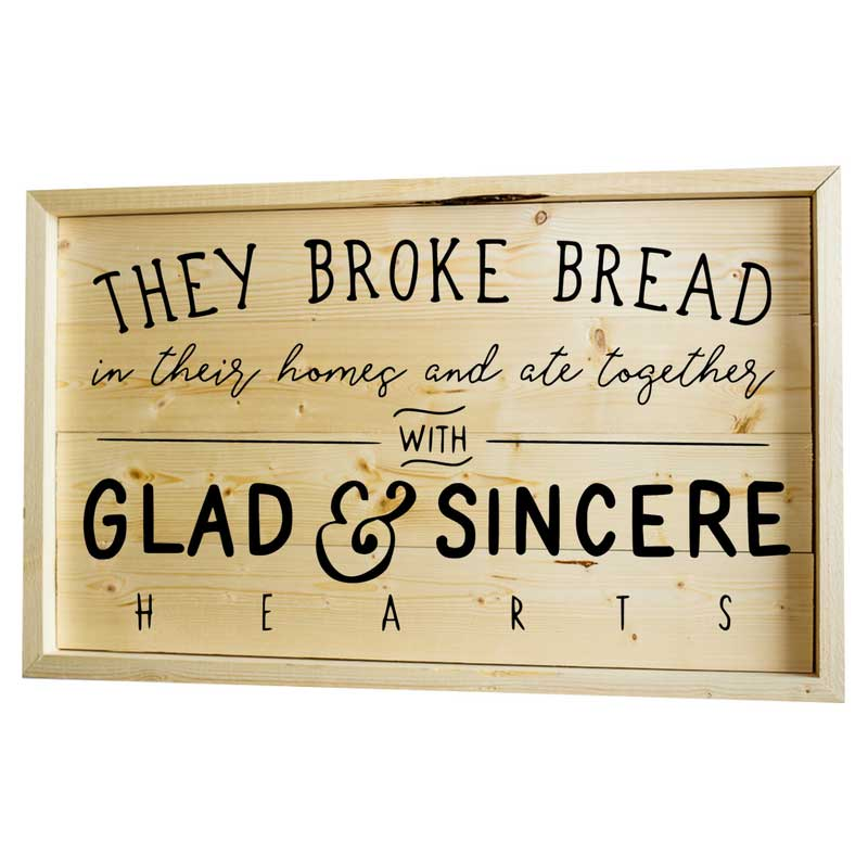 Larger-14x24-Stack-Framed-They-Broke-Bread