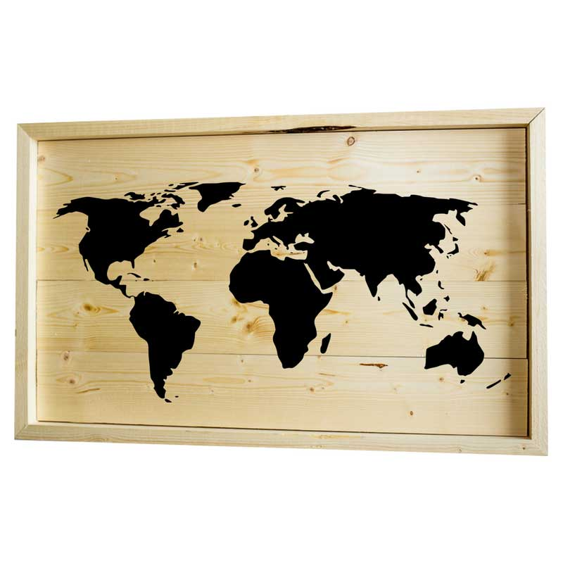 Larger-14x24-Stack-Framed-World-Map