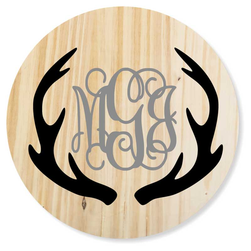 Round-24-Antlers-with-monogram