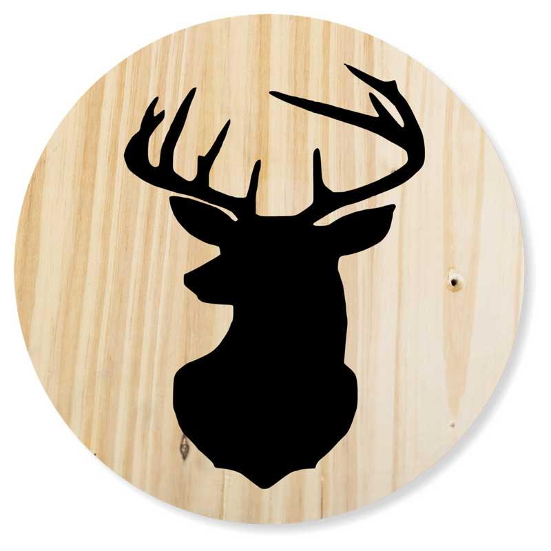 Round-24-Deer-Head-