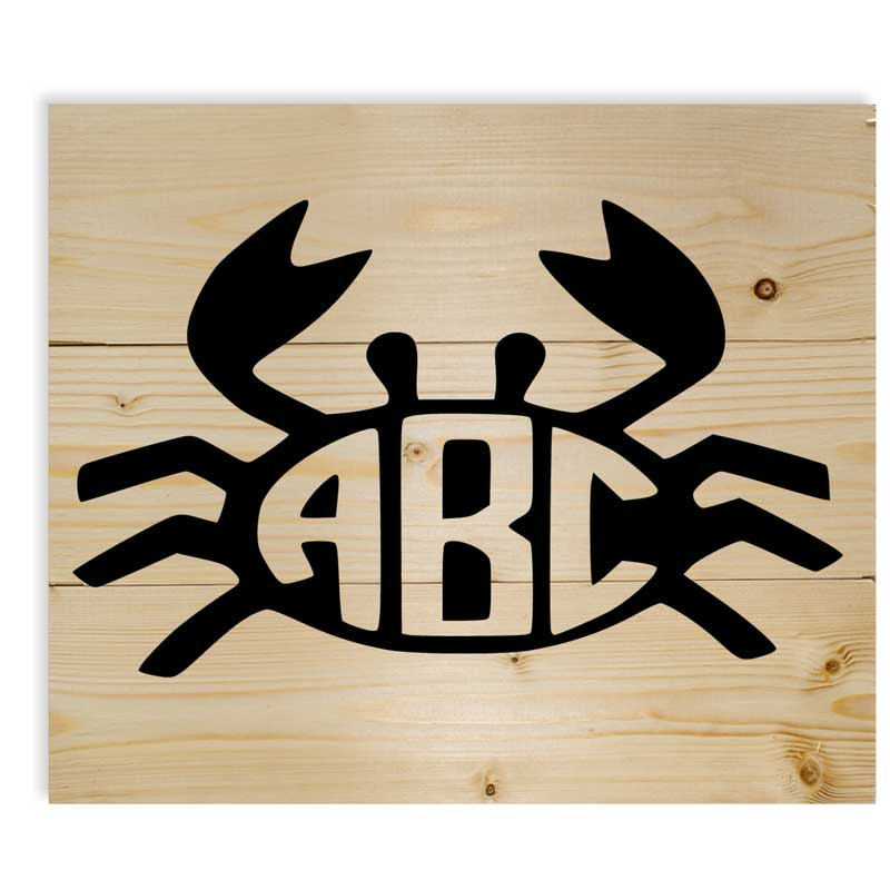 Small-Crab-Monogram