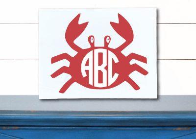6040-Crab-Monogram