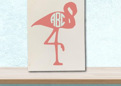 6044-Flamingo-Monogram